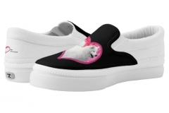Samoyed Slip On Shoes http://www.zazzle.com/samoyed_slip_on_shoes_us_men_women_most_sizes_printed_shoes-256356117075719316