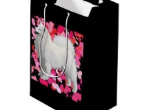 Gift BAG http://www.zazzle.com/samoyed_custom_gift_bag_medium_matte-256594638600385876