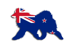 NewZealand Flag Sammy Window Decal