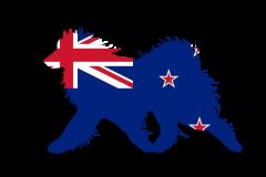 NewZealand Flag Sammy Window Decal