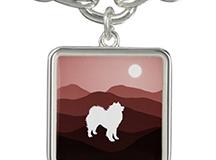 Zazzle Matching Charm Bracelet - Southwest Mts. Series http://www.zazzle.com/samoyed_southwest_moutains_square_charm_bracelet-256332296579889809?rf=238193063474731397063474731397//]]></script