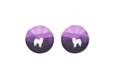 Zazzle purple mountain stud earrings http://www.zazzle.com/samoyed_purple_mountain_stud_earrings-256034472328424629?rf=23819306347473139