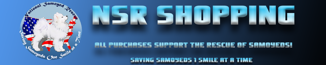 NSR Shop Supporting Samoyed Rescue