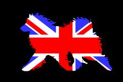 Great Britain Flag Sammy Window Decal